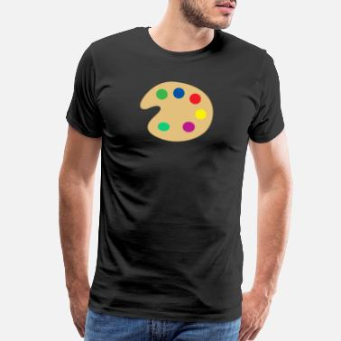 Paint Gun paint - Men's Premium T-Shirt