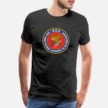 Anti-gun Control NRAlogo - Men's Premium T-Shirt