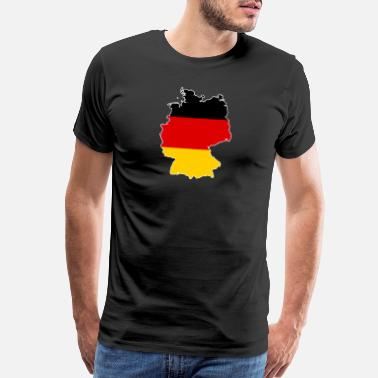Expressive Germany German Soccer - Men's Premium T-Shirt