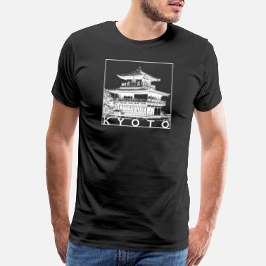 Japan Souvenir Kyoto - Men's Premium T-Shirt