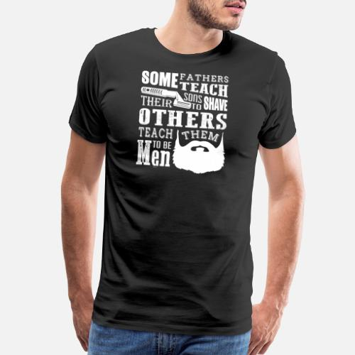 Father And Son Birthday Gift Mens Premium T Shirt