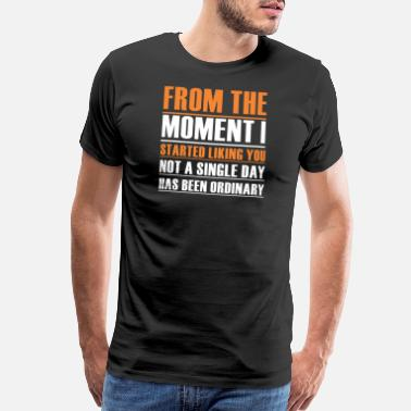 I Love White Girls From the moment I started liking you not a single - Men's Premium T-Shirt