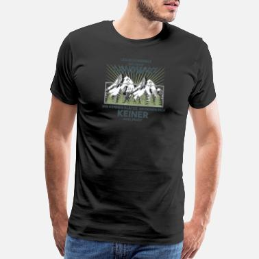Tractor-trailer farmer - Men's Premium T-Shirt