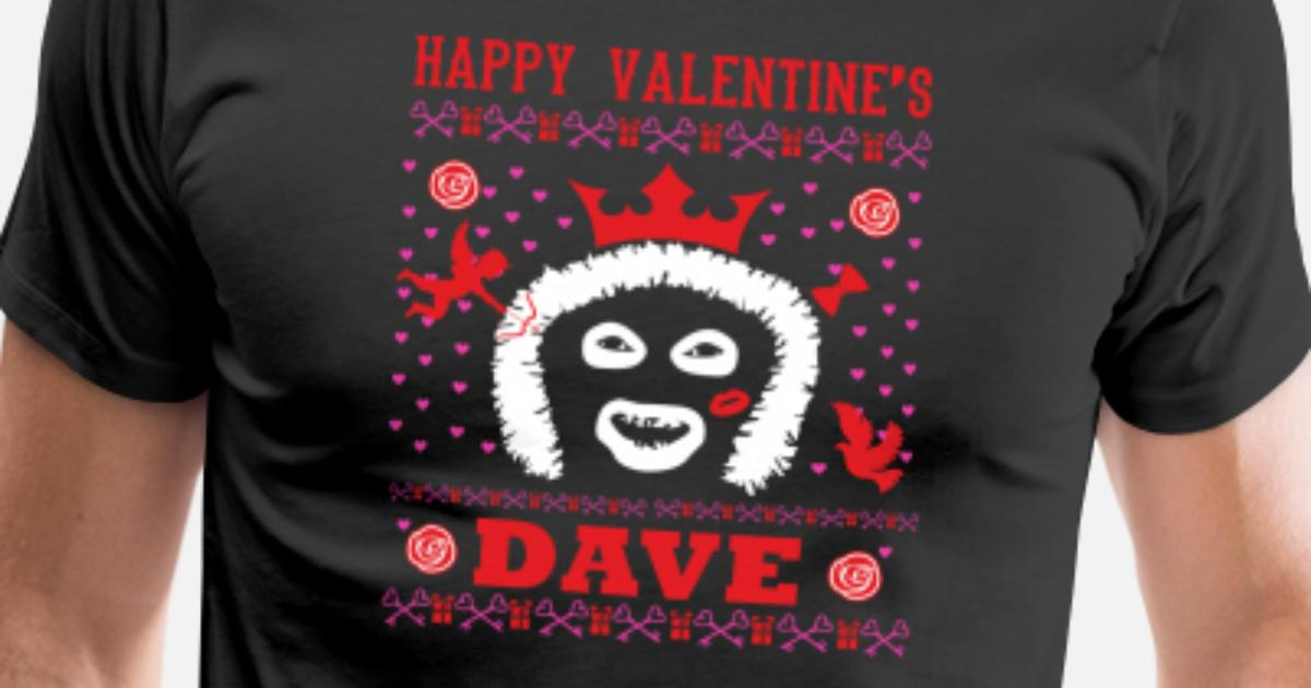 League Of Gentlemen Papa Lazarou Happy Valentine S Men S Premium T