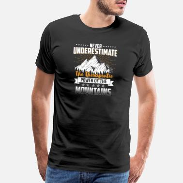 Free Mountains Shirt - Hiking - therapy - Men's Premium T-Shirt