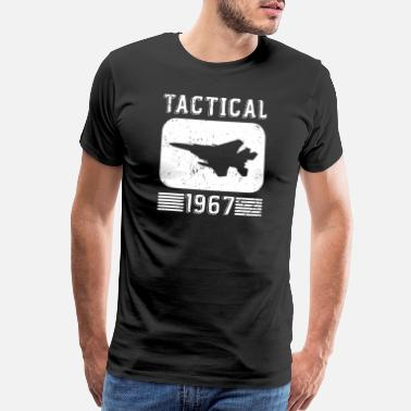 1967 Funny Jets - Tactical 1967 - Fighter Pilot Humor - Men's Premium T-Shirt