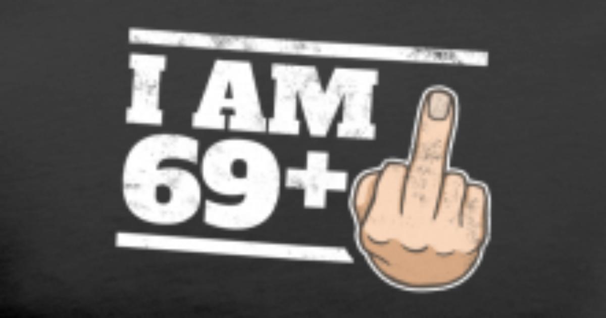Milestone 70th Birthday Funny Bday Gift Idea 69 1 Mens Premium T Shirt