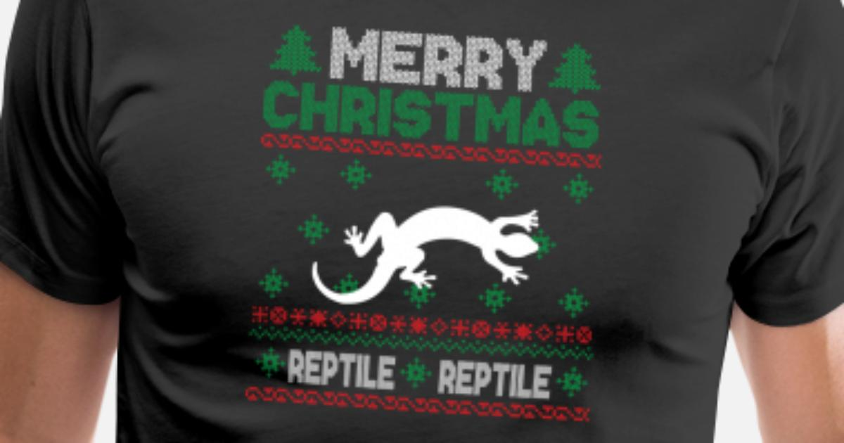 Cute Kids Reptile Ugly Christmas Tshirt by Epic Shirts Unlimited ...