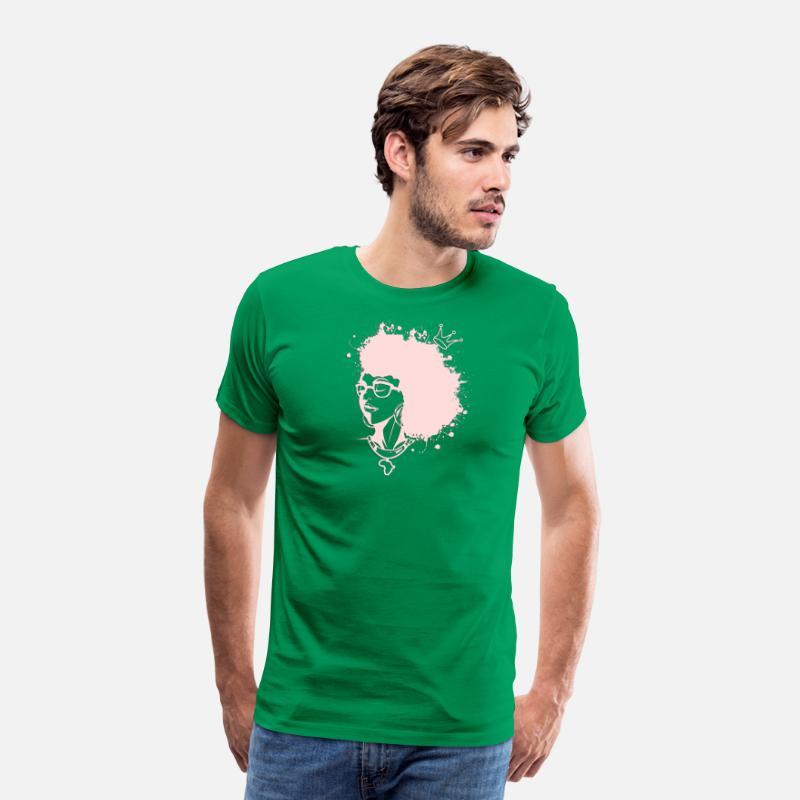 92de2228aacc3e Melanin Queen Africa - African American Woman Men s Premium T-Shirt ...