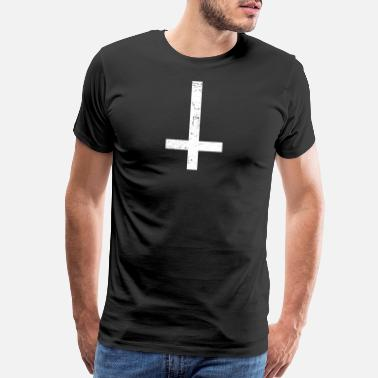 Inverted Cross Inverted Cross | Goth - Men's Premium T-Shirt