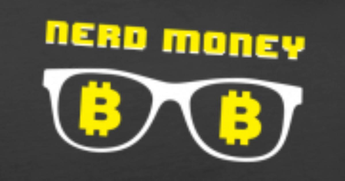 957d6088e7 Nerd Money Sunglasses With Bitcoin Logo Blockchain Men S Premium T