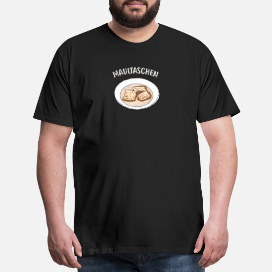 Gift) Maultaschen Men's Premium T-Shirt   Spreadshirt