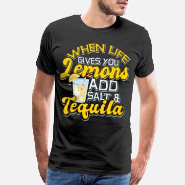 Thirst lemonade lemon fruit thirst lime cocktail limo - Men's Premium T-Shirt