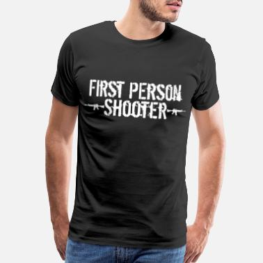 Noob First person Shooter - Men's Premium T-Shirt