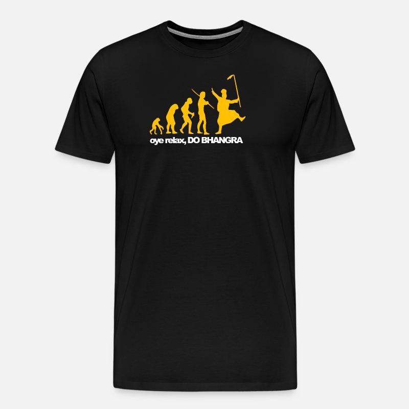 2df0fc81f461bd Bhangra Evolution Men s Premium T-Shirt
