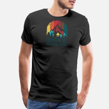 Olympic National Park Washington Olympic National Park Gift or Souvenir Design - Men's Premium T-Shirt
