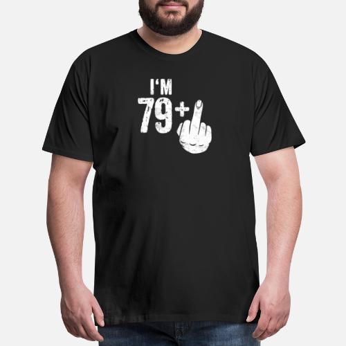 Mens Premium T ShirtFunny 80th Birthday Gift Idea Bday Present