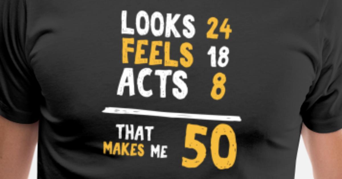 Custom 50th BIRTHDAY T Shirt 18250 Days Old Great Birthday Party Gift Size XXL