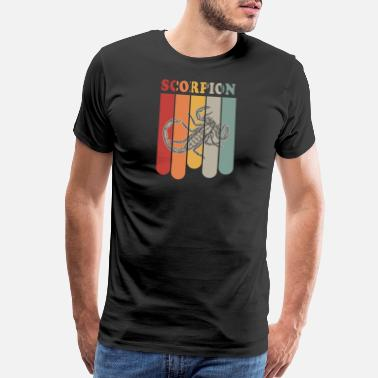 Poison Vintage Scorpion Desert Poison Sting Poisonous - Men's Premium T-Shirt