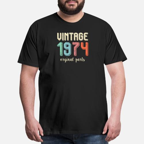 Vintage Retro 1974 45 Years Old 45th Birthday Gift By SWAYSHIRT