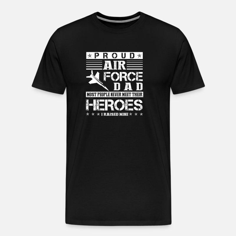 2893fe15 Proud Air Force Dad Shirt Men's Premium T-Shirt | Spreadshirt