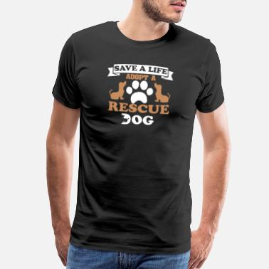 Rescue Dog Rescue Dog - Men's Premium T-Shirt