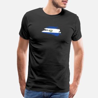 74493be01 El Salvador Retro EL Salvador Flag Shirt Gift Men Women Kids - Men s  Premium T-