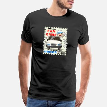 Post Office Post Offices Tray DPS Delivery Post Man Truck Gift - Men's Premium T-Shirt