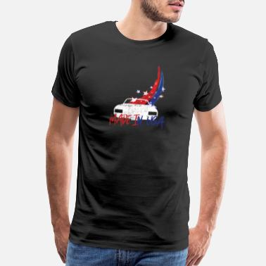 Made In Usa Classic Cars Made in USA - Men's Premium T-Shirt