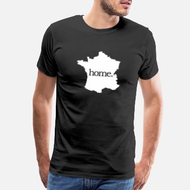 Marseille France Paris Marseille Bordeaux home - Men's Premium T-Shirt