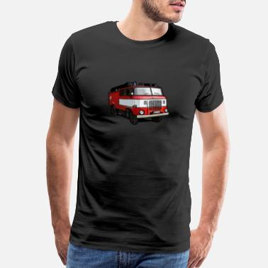 Voluntary Firefighter Shirt - Firefighting - fire truck - Men's Premium T-Shirt