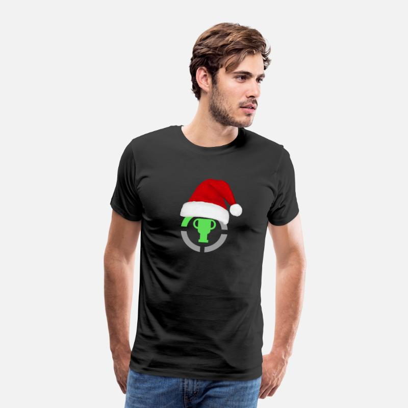 Youtube T-Shirts - Game Theory Official Logo Christmas Edition Gifts - Men's Premium T-Shirt black