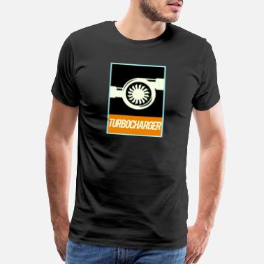 Fast Car Turbocharger Big Boost - Men's Premium T-Shirt