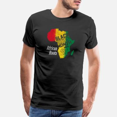 Stay Beautiful Black History Month 2019 African Roots Gift - Men's Premium T-Shirt
