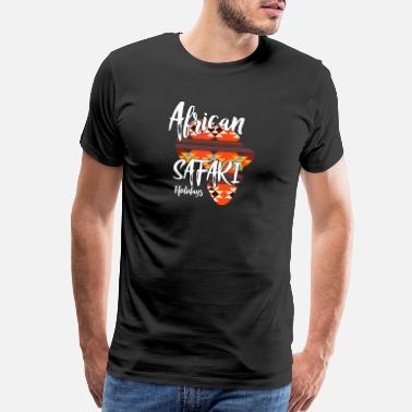 A South African african safari holidays vacation travel trip - Men's Premium T-Shirt