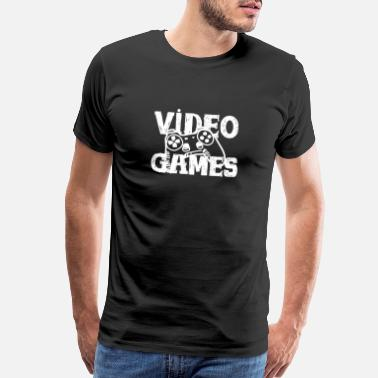 Ps3 Funny Video Games Shirt | Perfect Gift Idea - Men's Premium T-Shirt