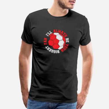 Game Ball Football training club fan gift - Men's Premium T-Shirt