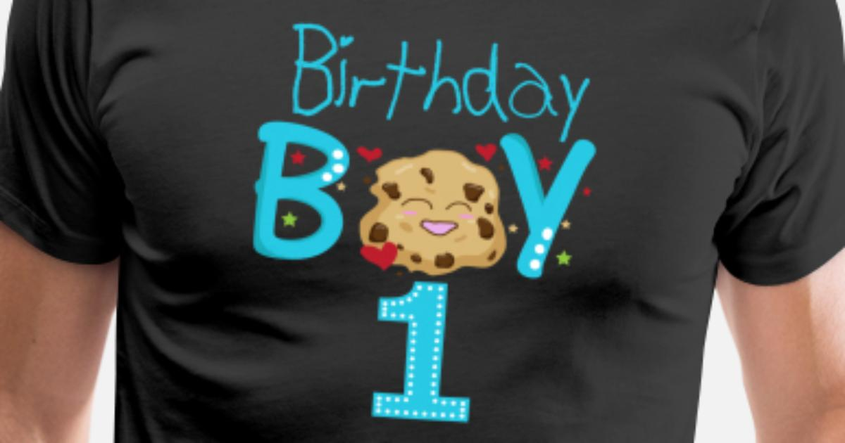 Birthday Boy 1 Year Old Shirt Mens Premium T