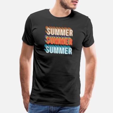 Rio Summer Sun Beach Party and vacation gift idea - Men's Premium T-Shirt
