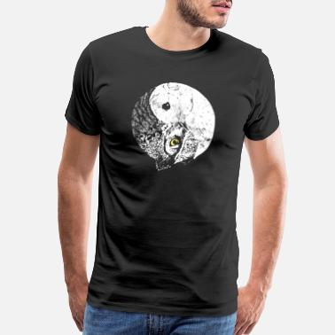 Heavyweight Owl - Men's Premium T-Shirt