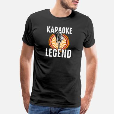 Band Karaoke Legend - Men's Premium T-Shirt