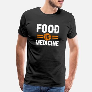 Kale Healthy Eating Food Is Medicine - Men's Premium T-Shirt