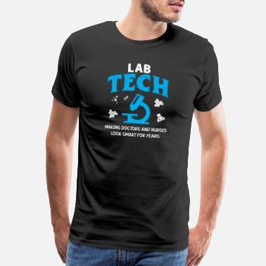 Beaker Funny Medical Lab Tech Shirt - Making Doctors Look - Men's Premium T-Shirt
