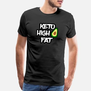 Weight Loss Keto Diet High Fat Low Carb - Men's Premium T-Shirt