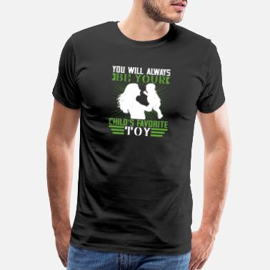 Growth I am my childs favorite toy - Men's Premium T-Shirt