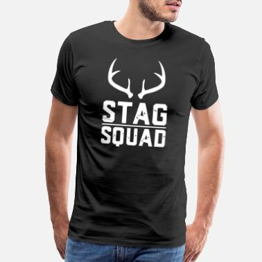 Doe Stag Squad - Men's Premium T-Shirt