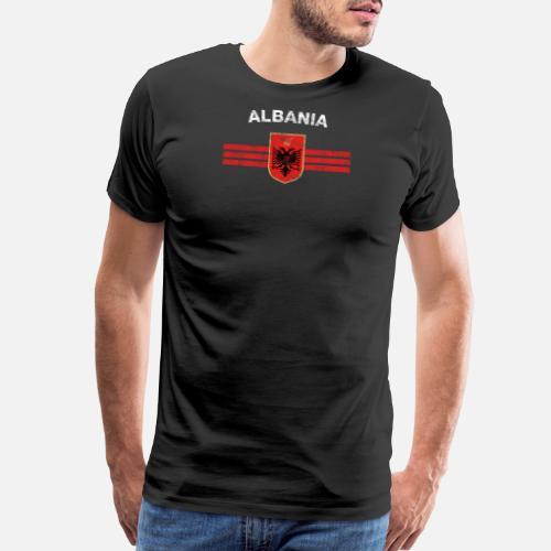 e92090204 Eagle T-Shirts - Albanian Flag Shirt - Albanian Emblem   Albania Fl -  Men s. Do you want to edit the design