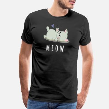 Playful Playful Cat - Men's Premium T-Shirt
