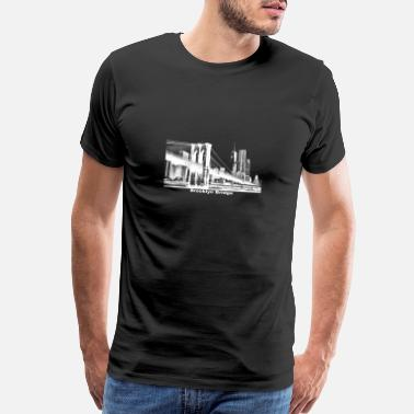 Brooklyn Bridge Brooklyn Bridge gift New York - Men's Premium T-Shirt