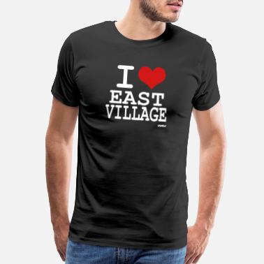 East Village i love east village by wam - Men's Premium T-Shirt
